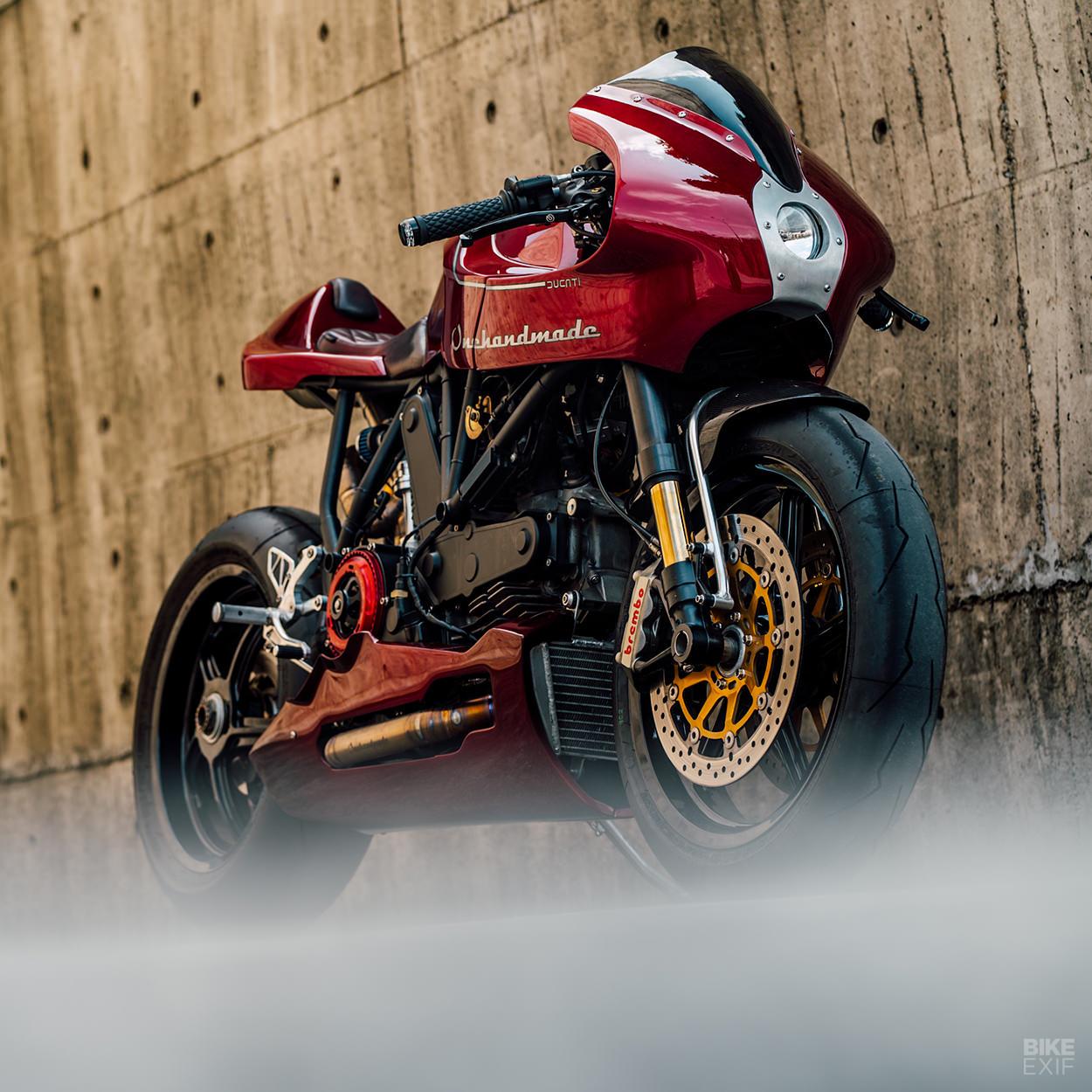 Ducati MH900e cafe racer by Onehandmade