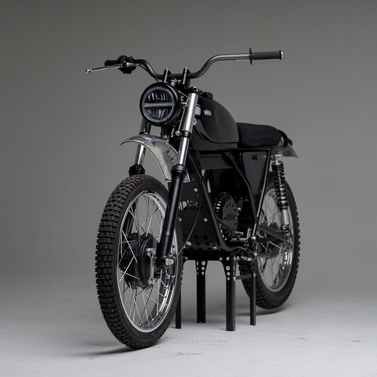 Garelli Electric Conversion by Mokka Cycles