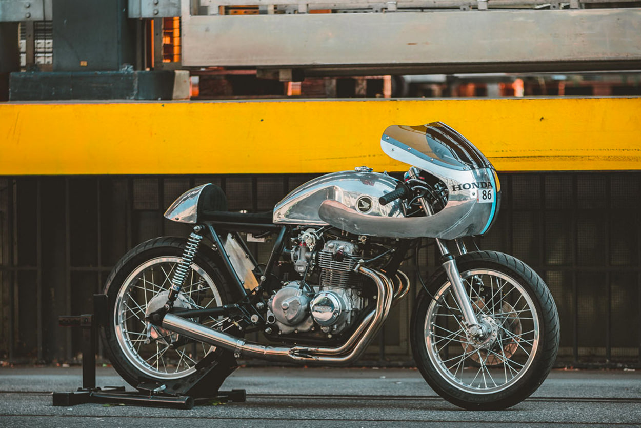Honda CB400F Supersport by 2V Motos