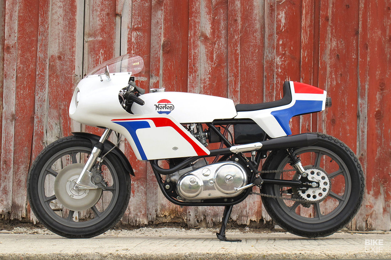 Smoking: A homage to the classic John Player Norton Commando, by Union Motorcycle Classics