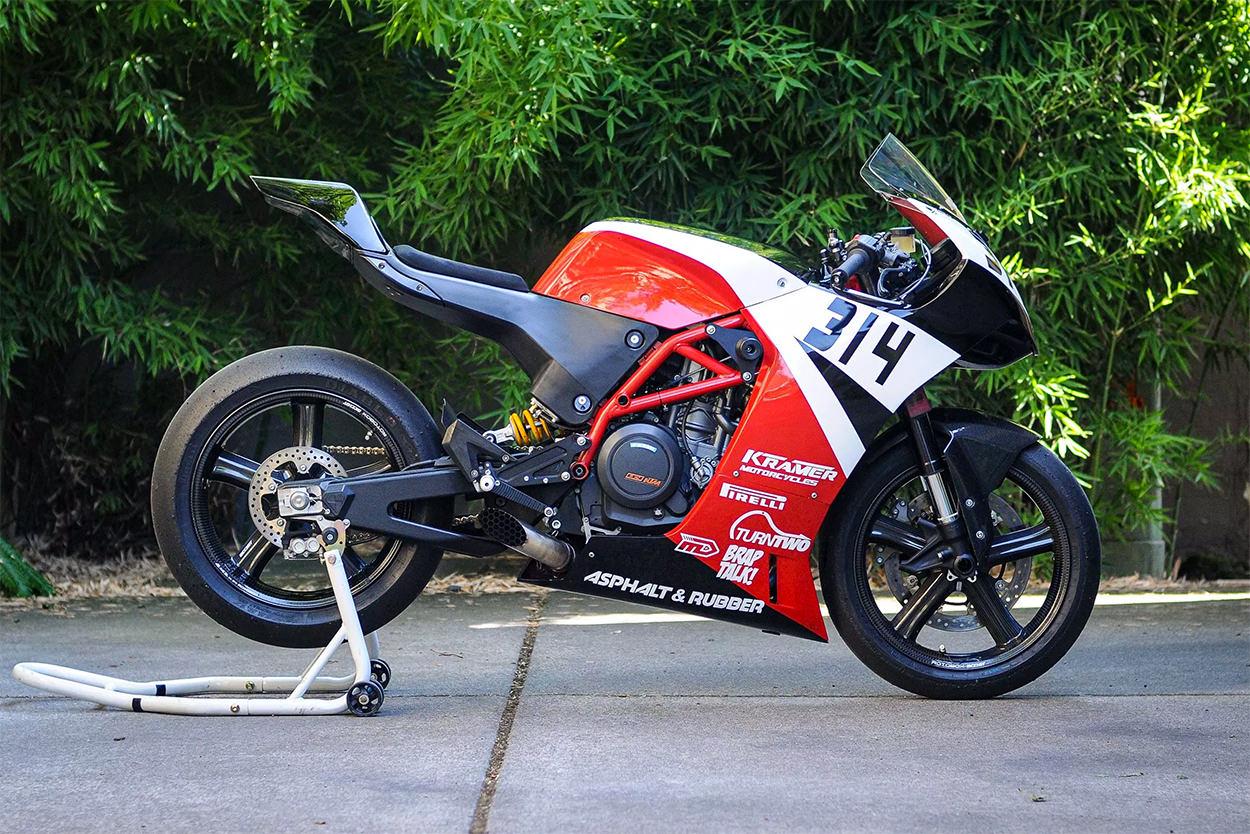Jensen Beeler's Krämer race bike