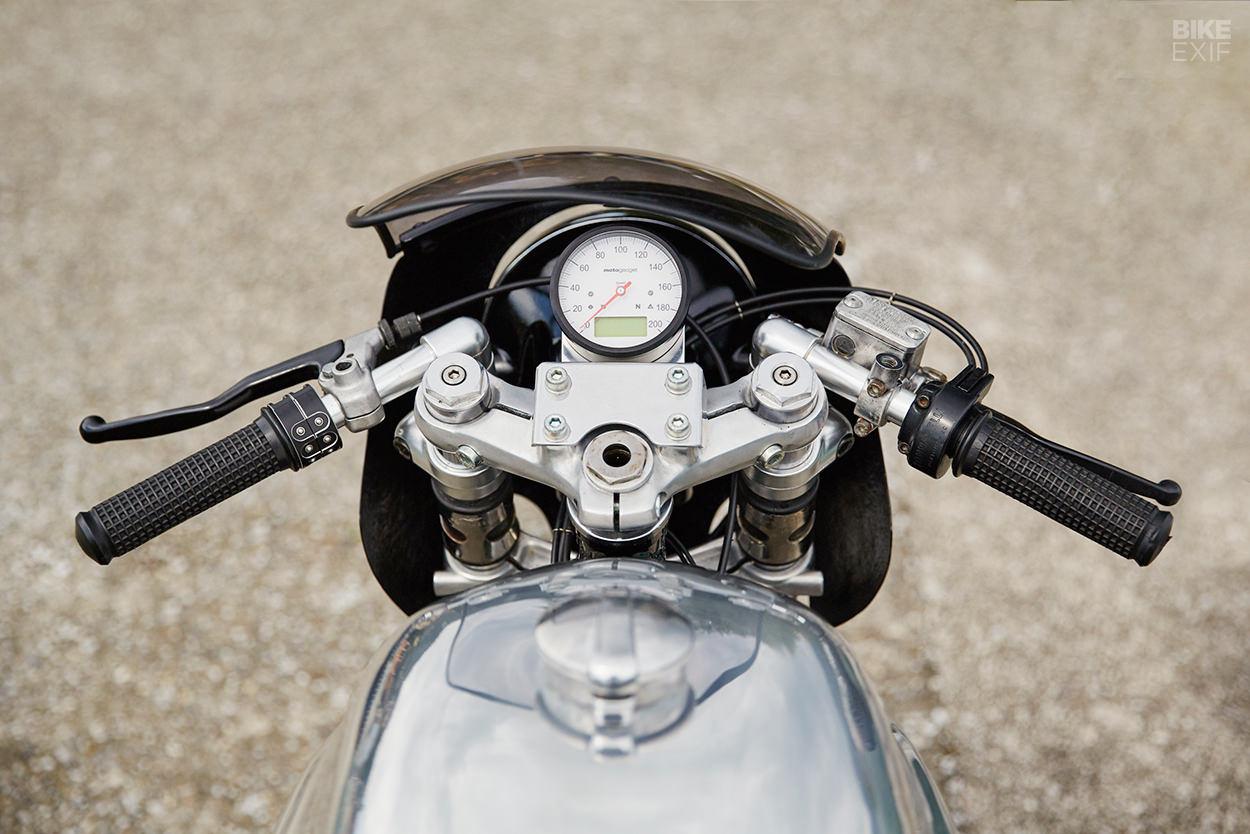 Custom Moto Guzzi 850 LeMans III by 4h10