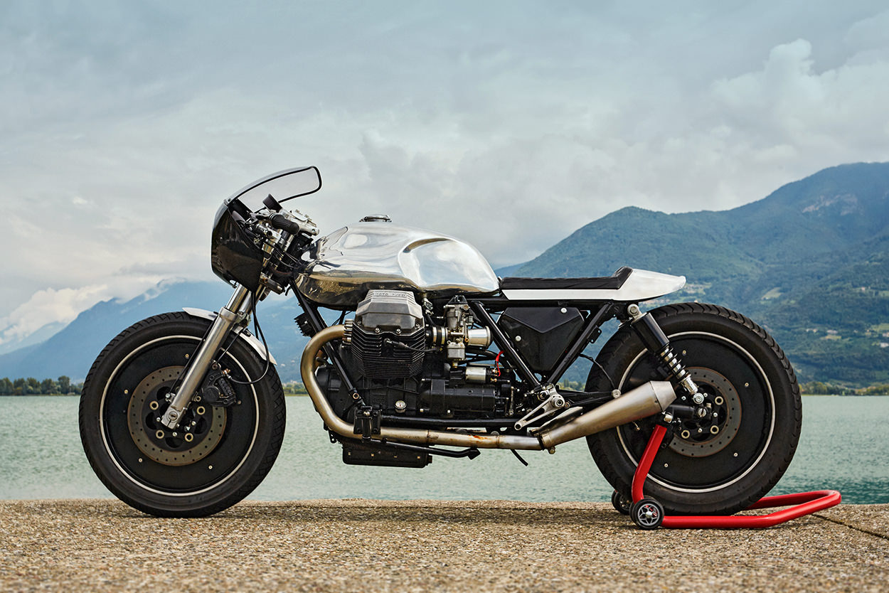 Custom Moto Guzzi 850 LeMans III by 4h10