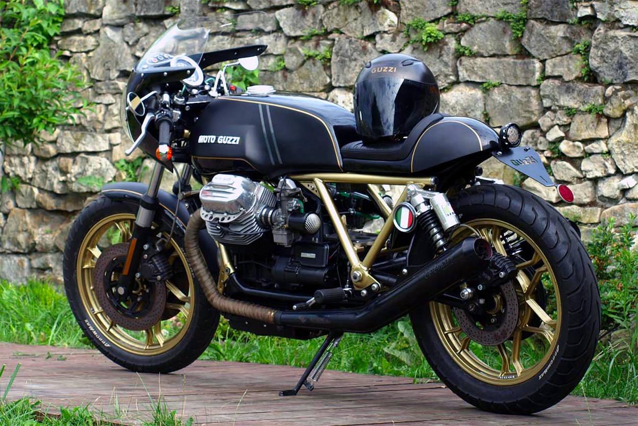 Moto Guzzi T3 cafe racer by Marcin Guja