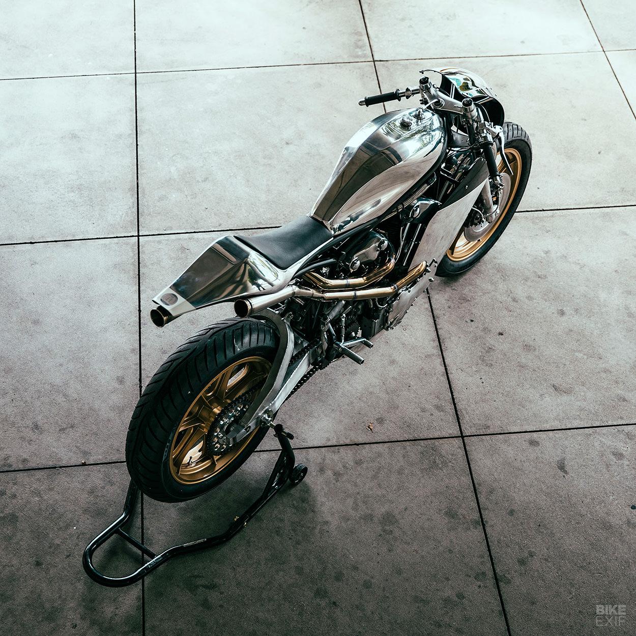 KNTT: A sporty Knucklehead from Max Hazan | Bike EXIF
