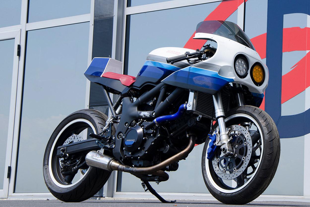 Suzuki SV650 endurance racer by Bandisca