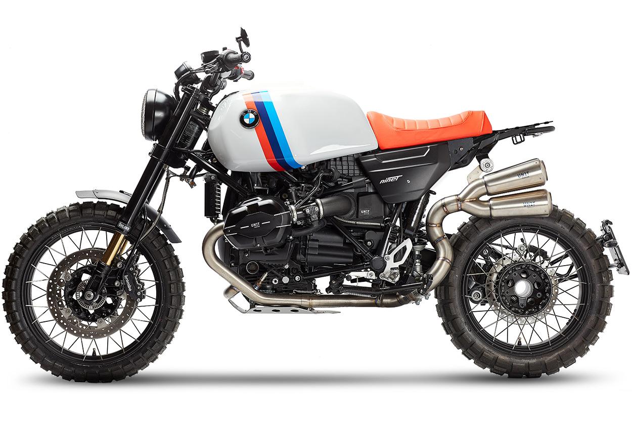 Unit Garage BMW R nineT, slash 7 style