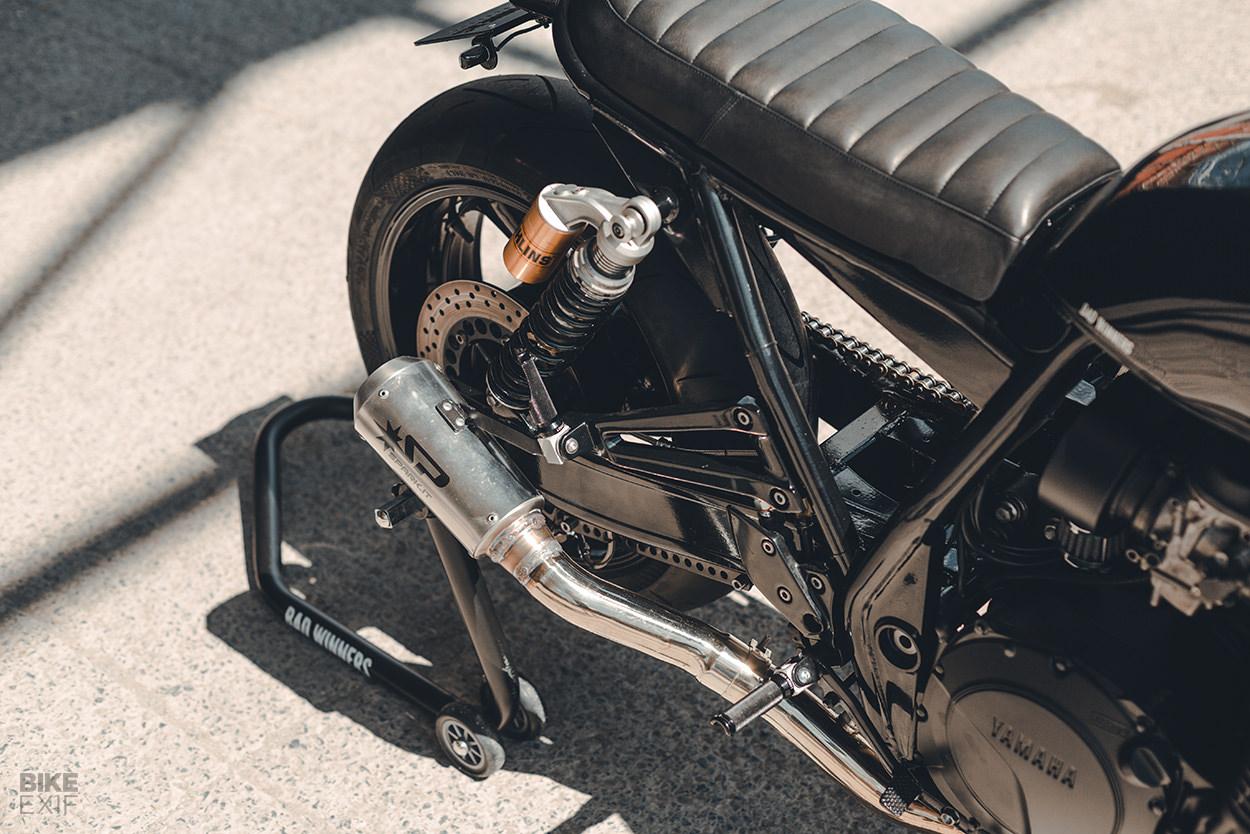 Custom Yamaha XJR1300 by the Bad Winners workshop