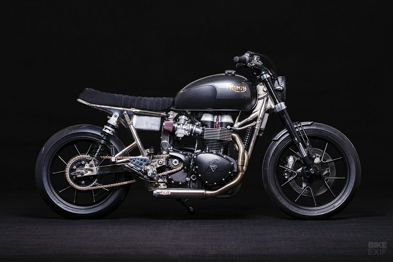2015 Triumph Thruxton custom by FCR Original