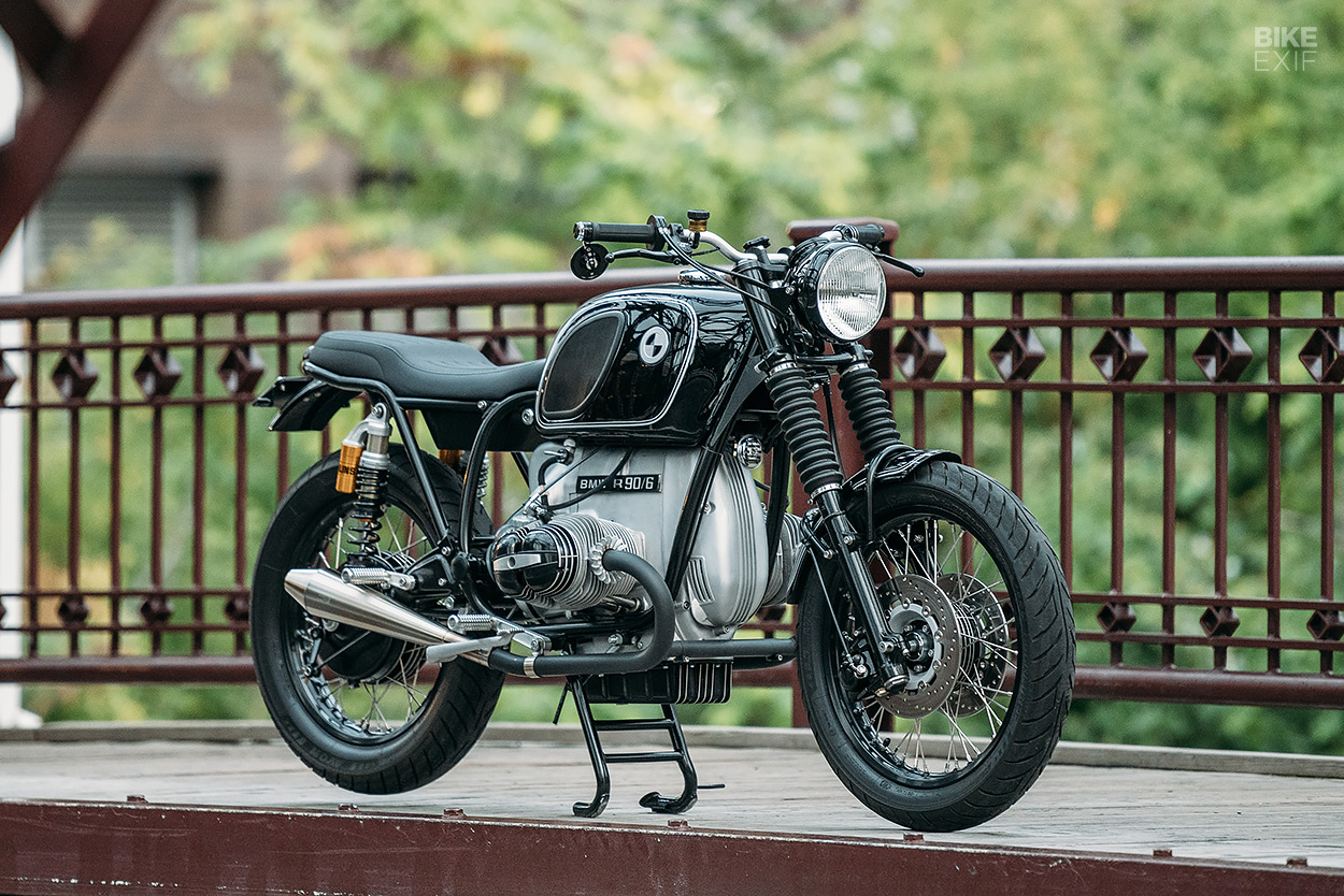 BMW R90/6 cafe racer restomod by Analog Motorcycles