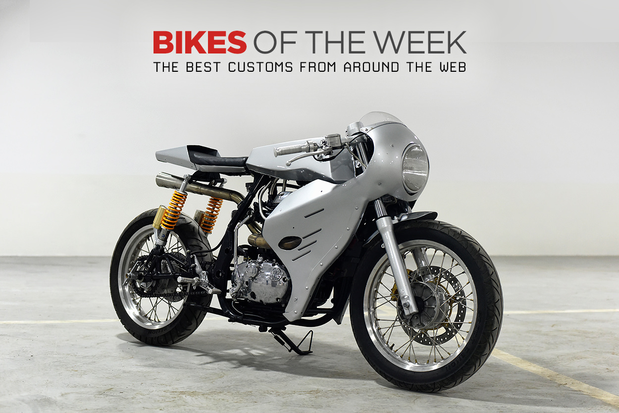 The best cafe racers, retro racers and custom motorcycles from around the web