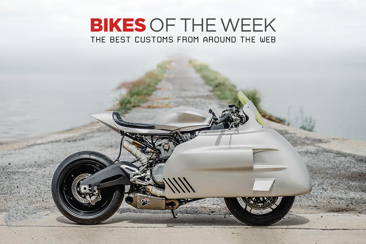 The best cafe racers, street trackers and minibikes from around the web