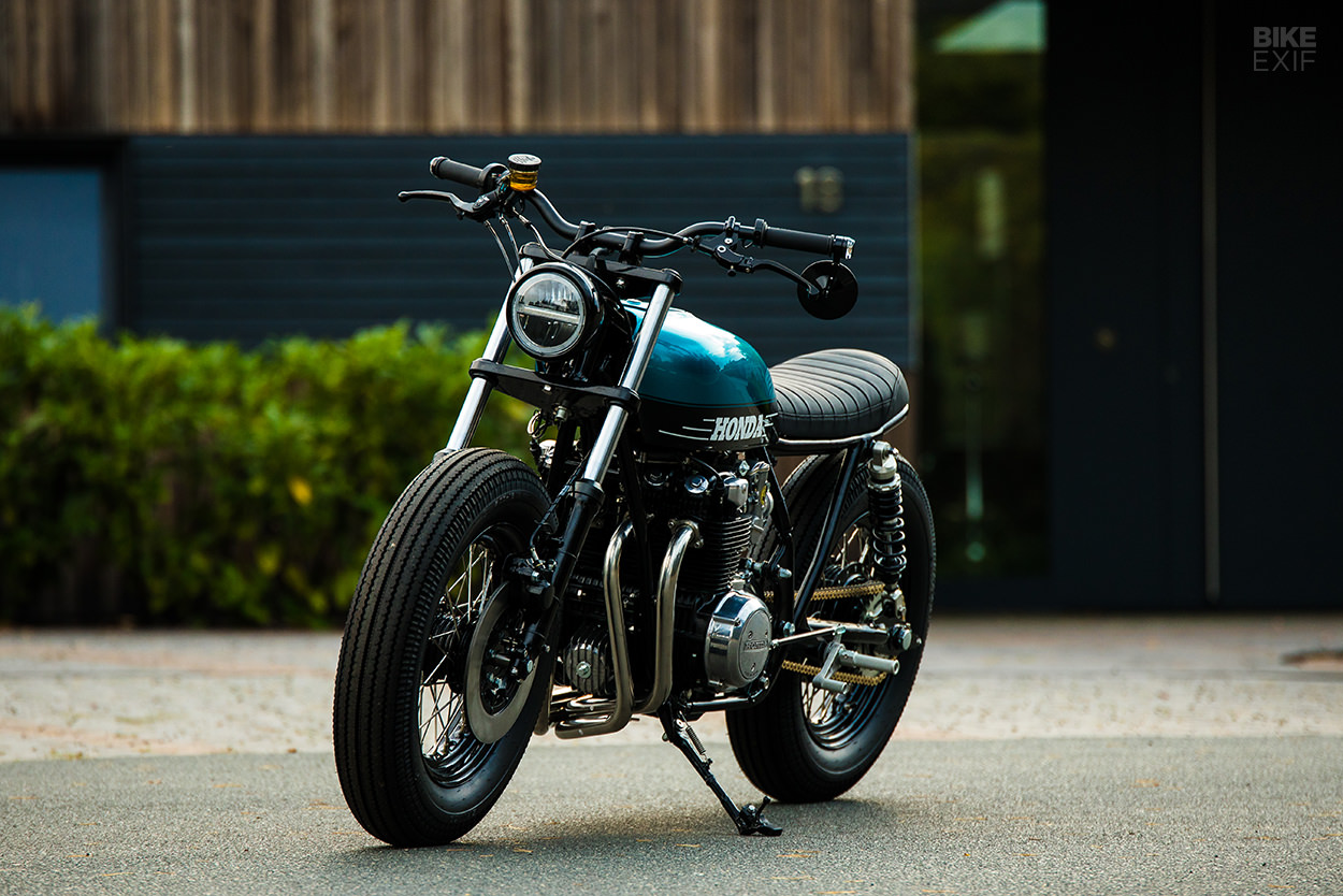 Classic Honda restoration: A CB500 rescued from chopper hell