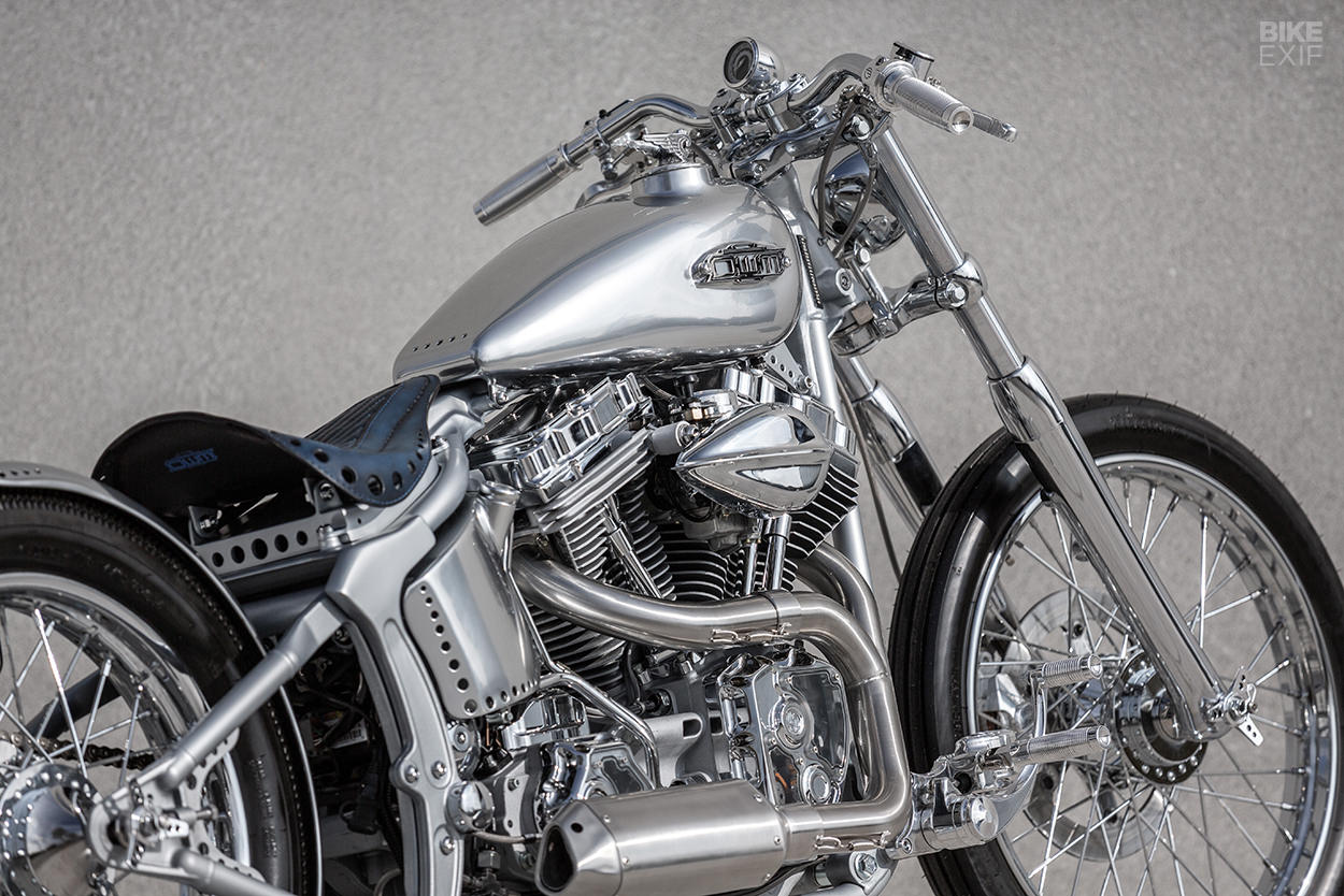 Custom Harley Softail Deuce built by One Way Machine