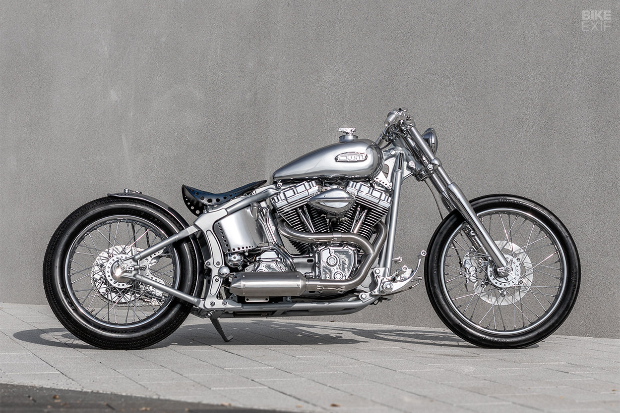 Custom Harley Softail Deuce built by OneWayMachine