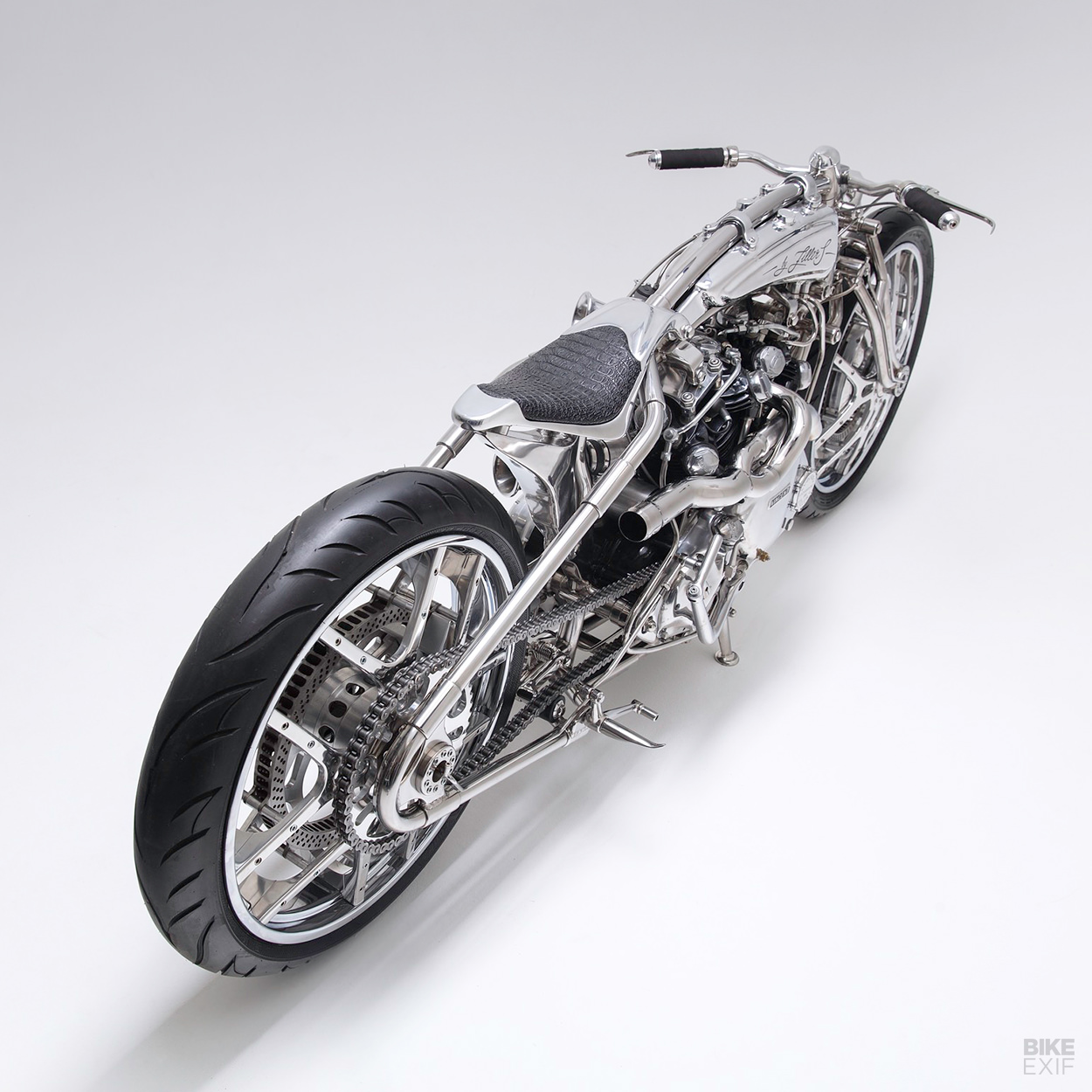 Custom Vincent Lightning by the Russian motorcycle builder Zillers Garage