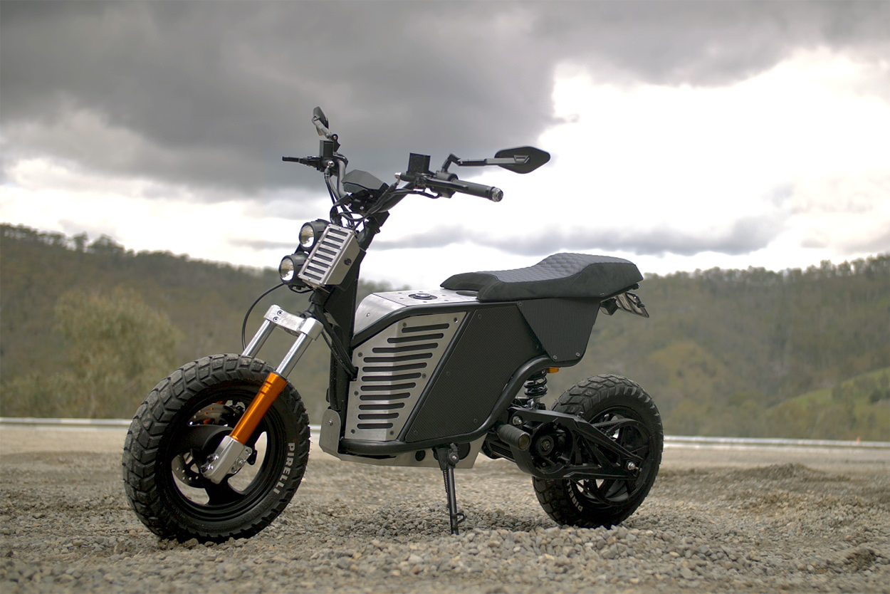 Fonzarelli NKD electric motorcycle