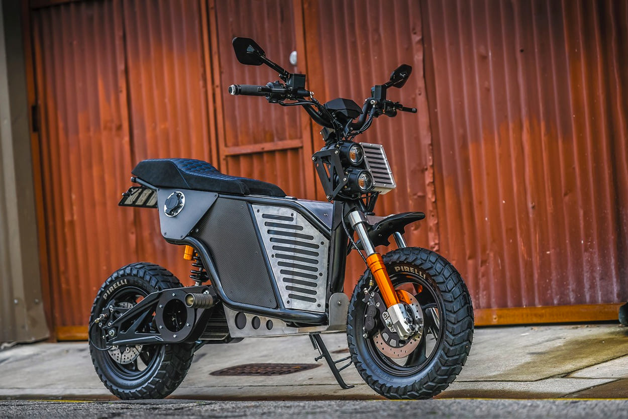 Fonzarelli NKD electric motorcycle