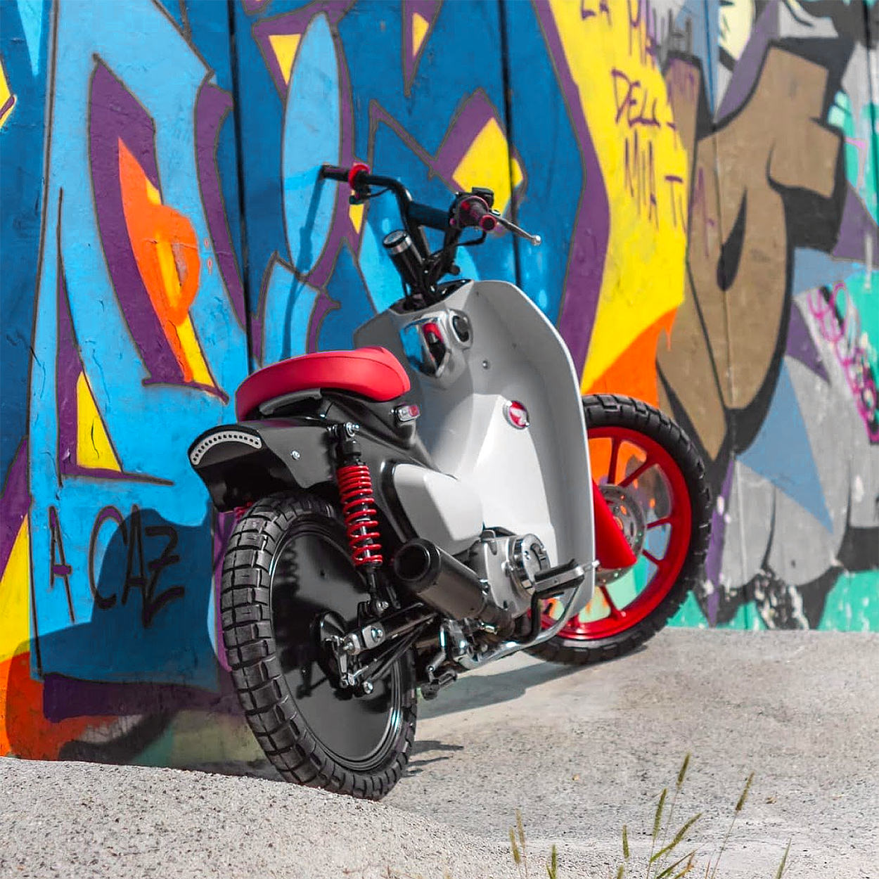 Custom Honda Super Cub by Greaser Garage