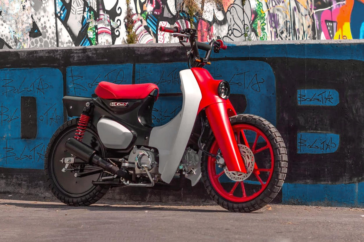 Custom Honda Super Cub by Greaser Garage