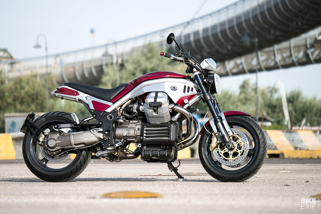 Impetus: A Moto Guzzi Griso custom from Officine Rossopuro