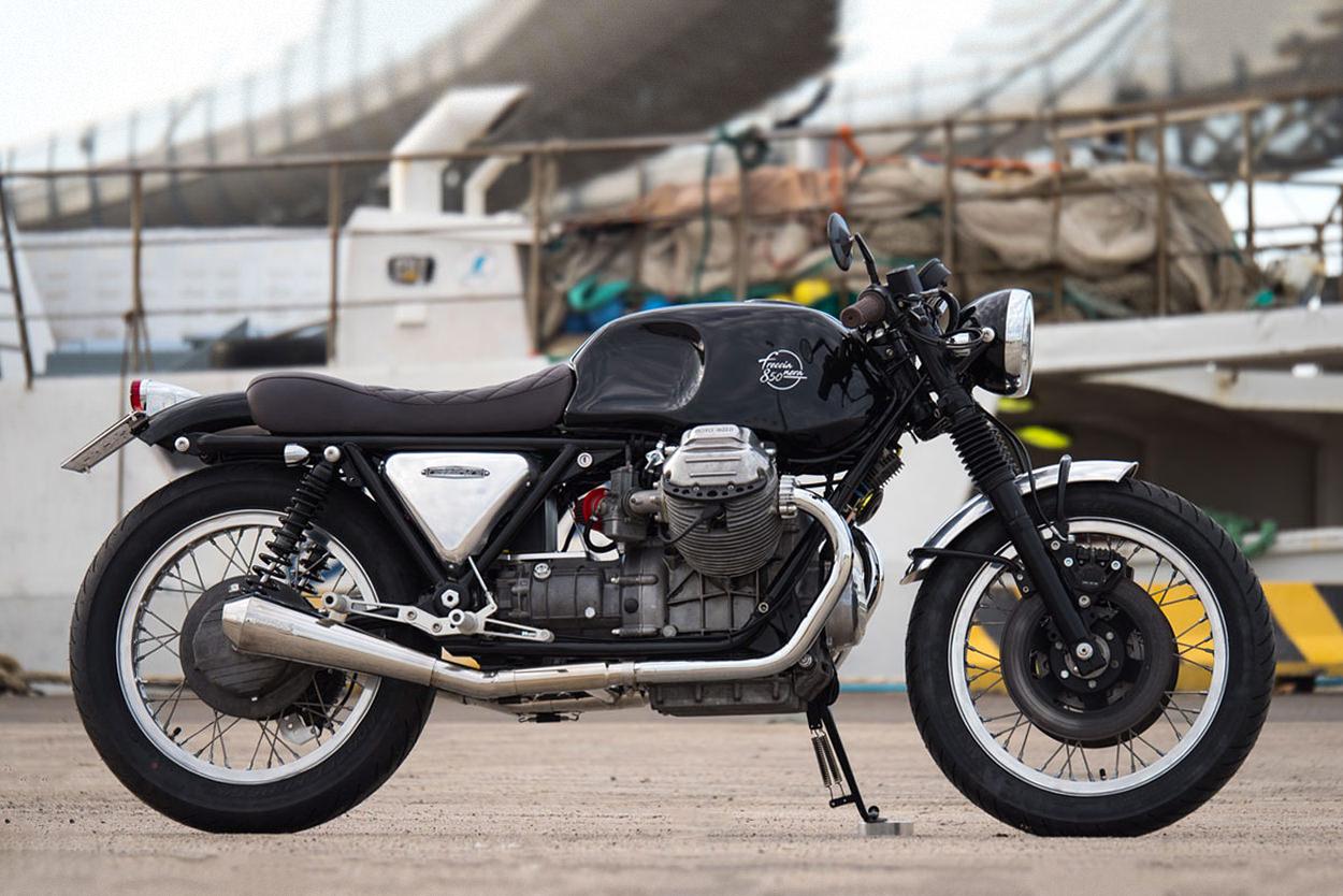 Moto Guzzi T3 by Officine Rossopuro