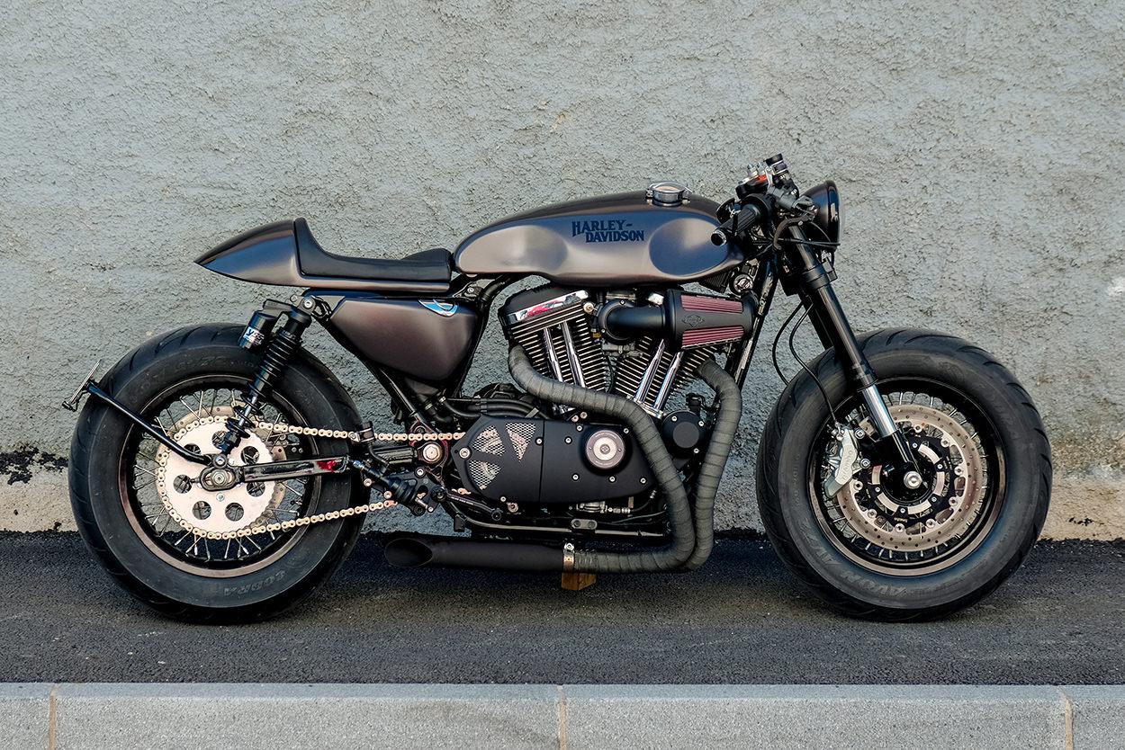 Harley-Davidson Sportster cafe racer by RC Dept