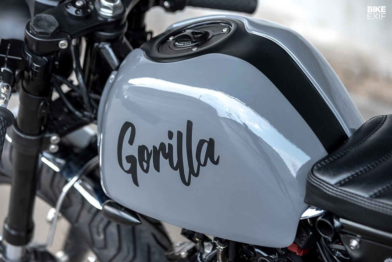 Gorilla Racer: A Honda 2019 Monkey 125 from K-Speed
