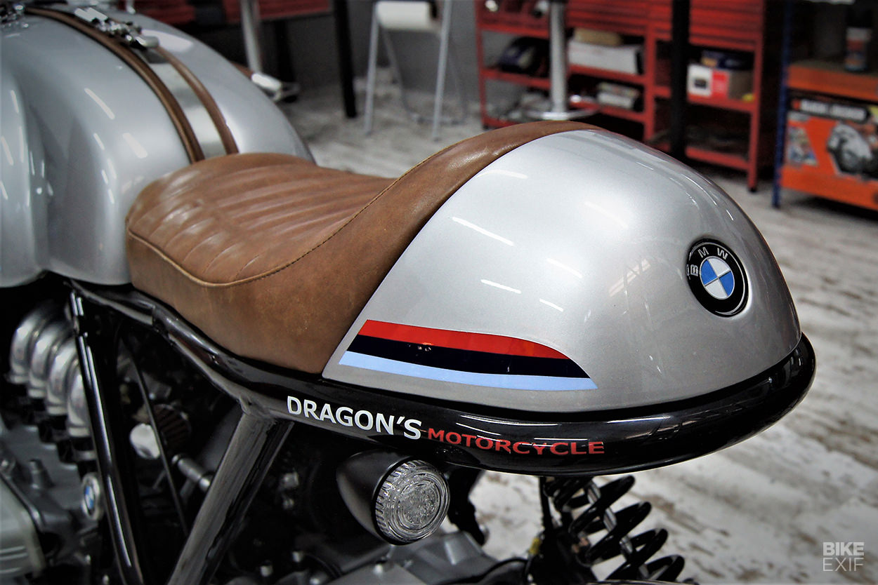 Lead sled: A BMW K1100 LT cafe racer from Dragons Motorcycles