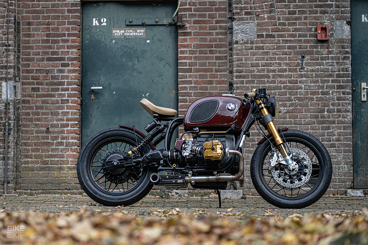 A four-valve Krauser-powered custom BMW R100 from Ironwood