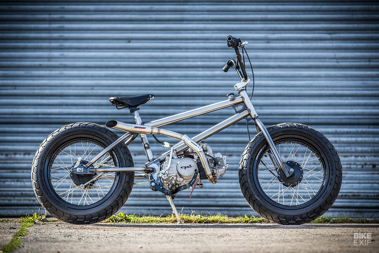 Fat Tracker: A motorized bicycle for BMX fans