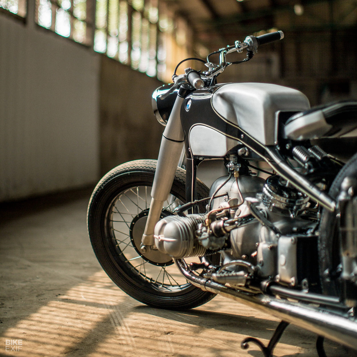 Reviving an icon: A BMW R51/3 restomod from Thrive