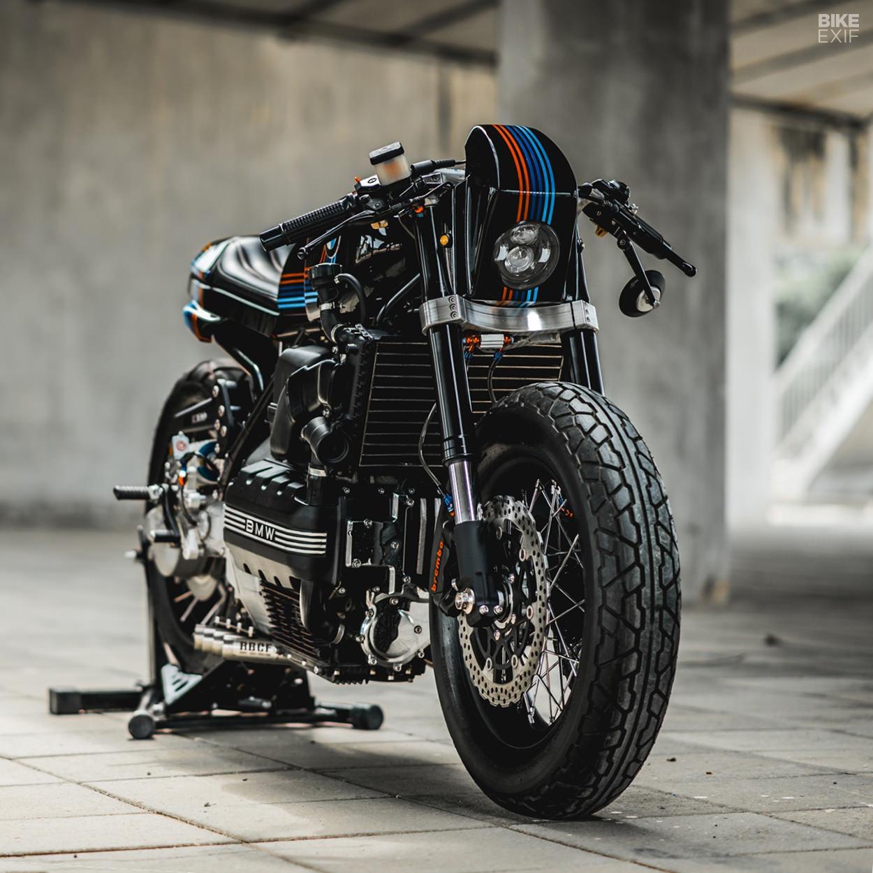 Custom BMW K100 by Ruby Cafe