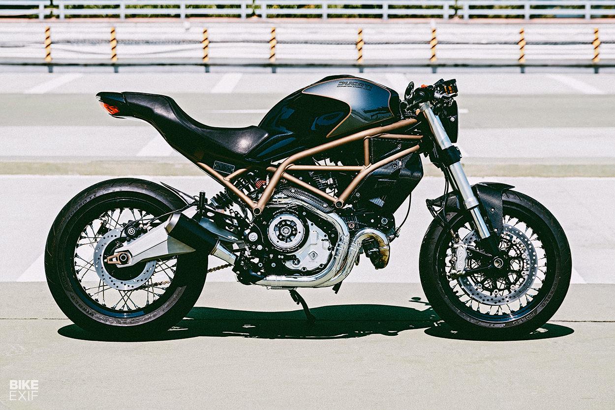 Custom Ducati Monster 797 by Angry Lane of Hong Kong