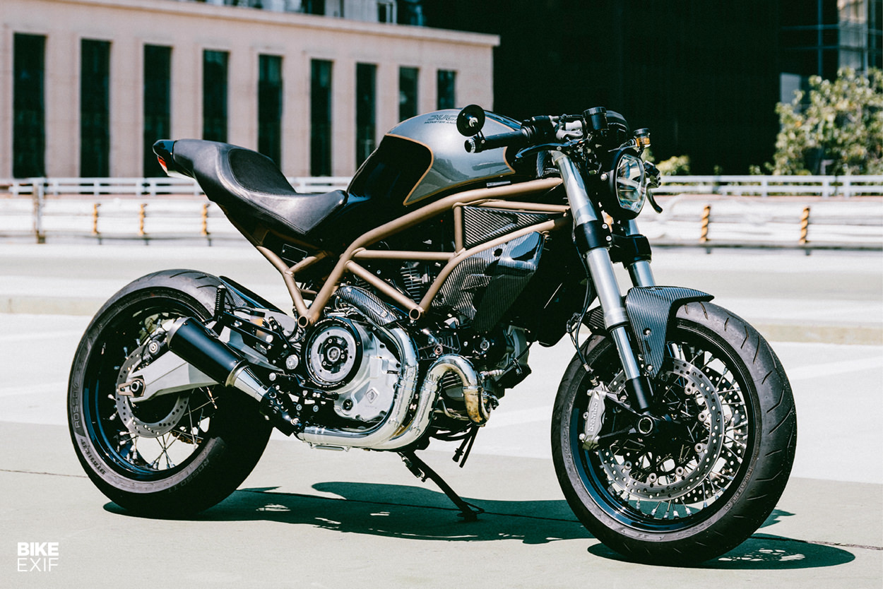 Custom Ducati Monster 797 by Angry Lane of Hong Kong