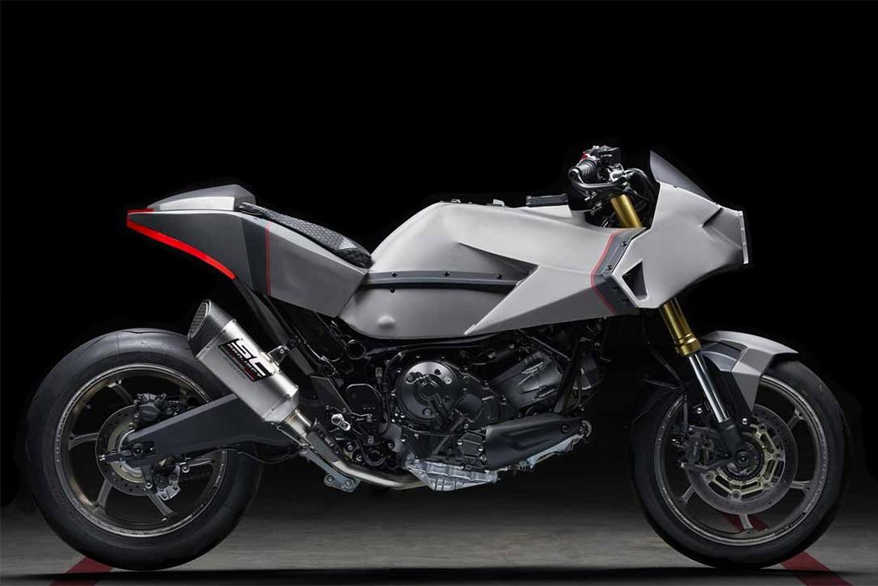 Custom Honda X-ADV scooter by Officine GP Design