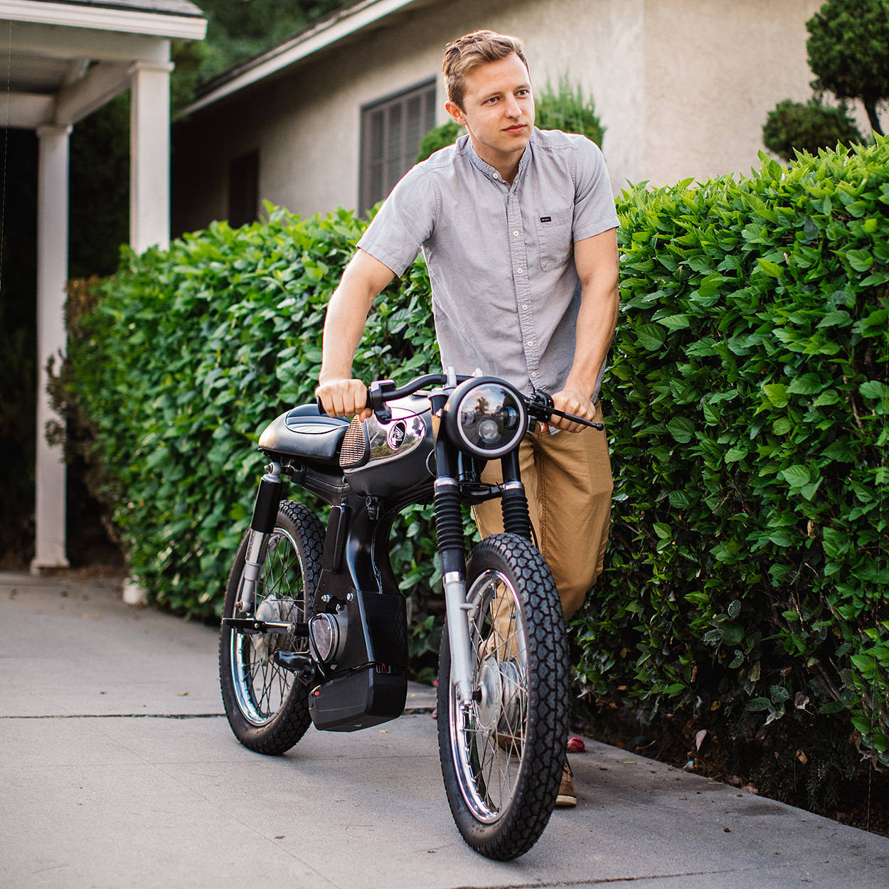 The electric moped that won a global bike build off: Aaron Laniosz's Honda S90