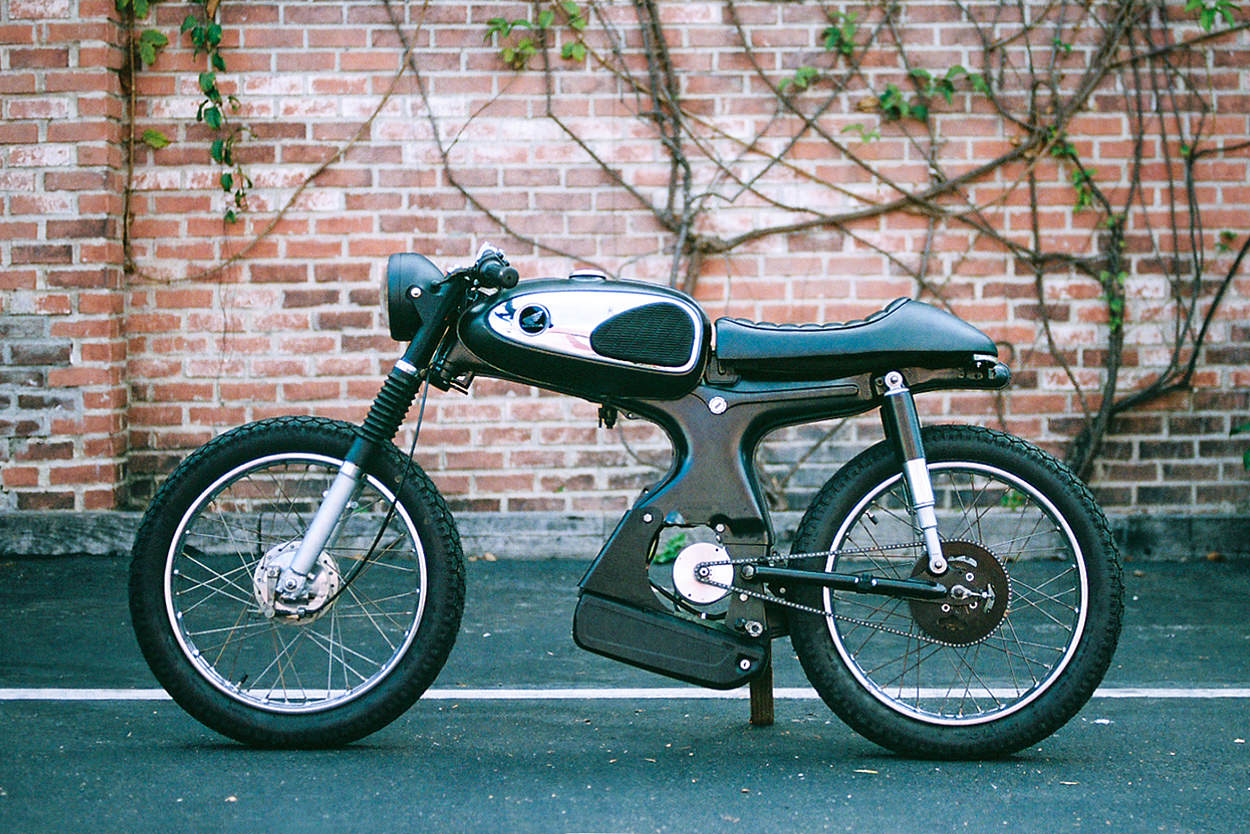 The $929 moped that won a global custom build off | Bike EXIF