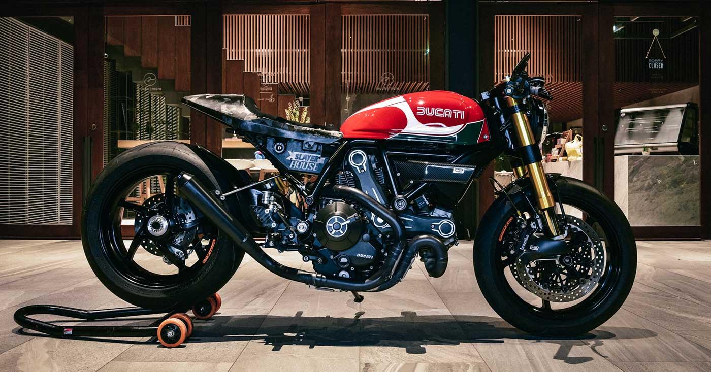A Scrambler Ducati Upgraded By A Pro Moto Designer Bike Exif