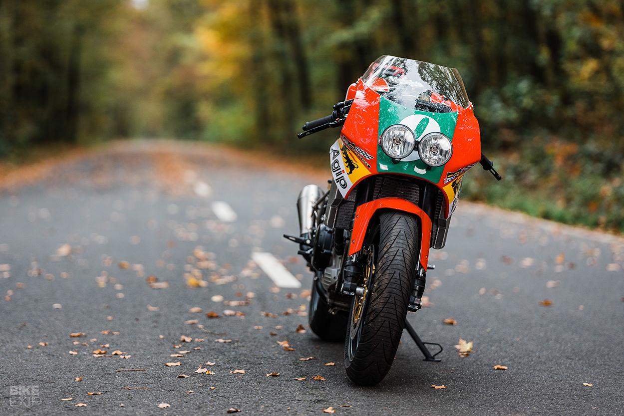 A custom Moto Morini Corsaro Veloce 1200 from XTR Pepo