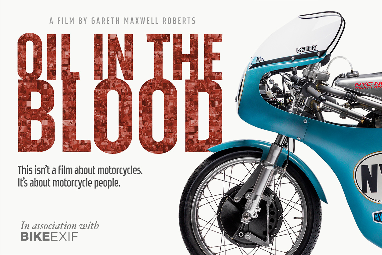 Oil In The Blood motorcycle film giveaway