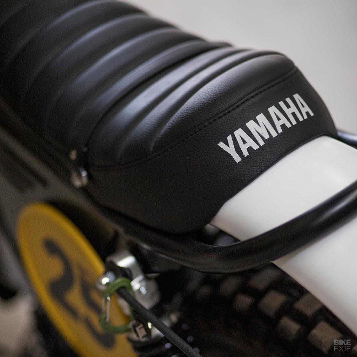 Yamaha Exciter SR250 scrambler by UFO Garage