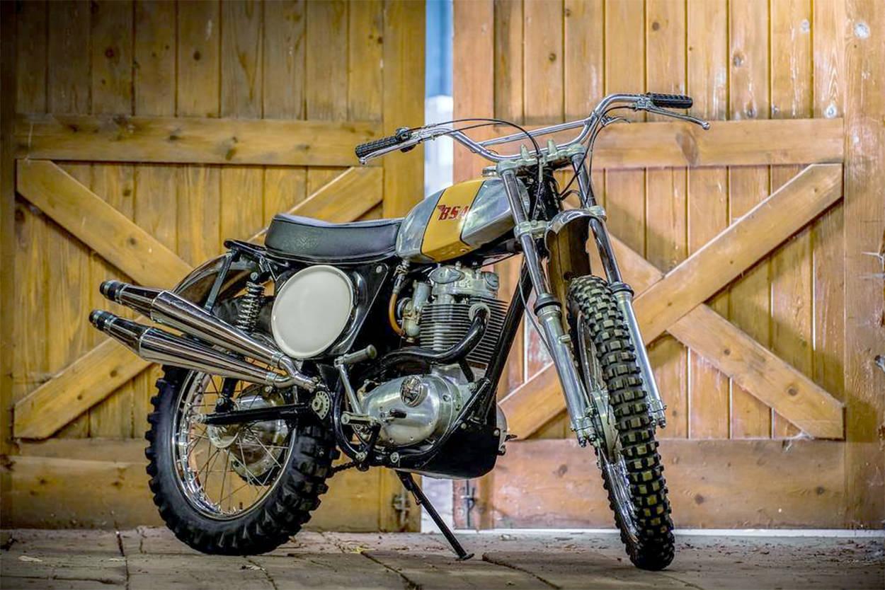 1973 BSA B50MX