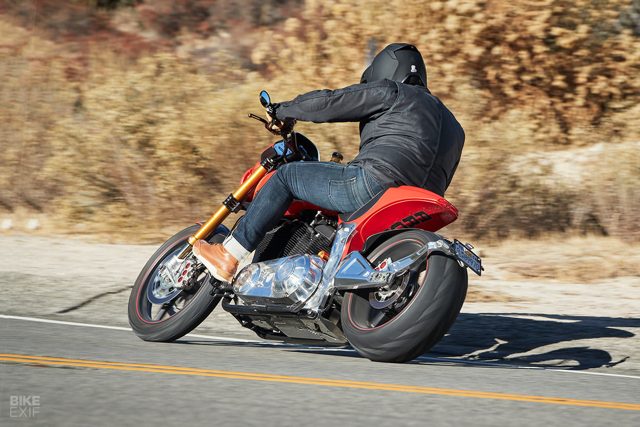 Arch Motorcycle review: riding the KRGT-1, its price and chatting with Keanu Reeves