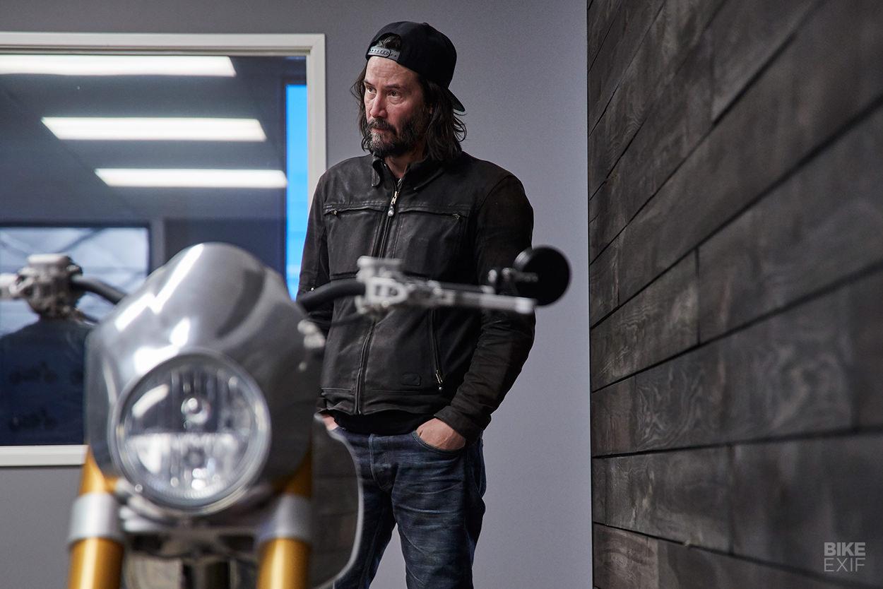 Keanu Reeves of Arch Motorcycle
