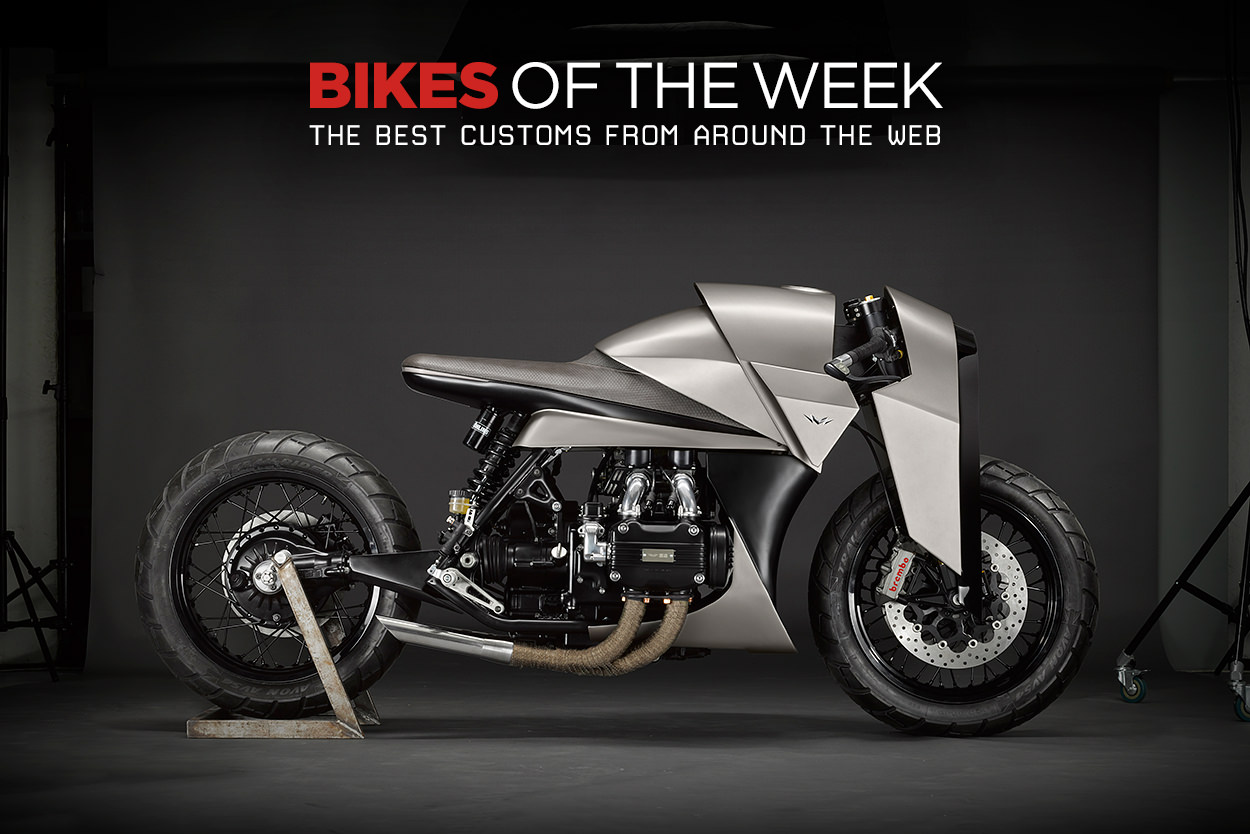 The best cafe racers, limited production motorcycles and Monkey bikes from around the web