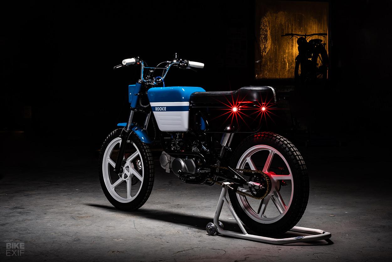 ROOKie: A BMX-style scrambler by ROOK motorfietsen