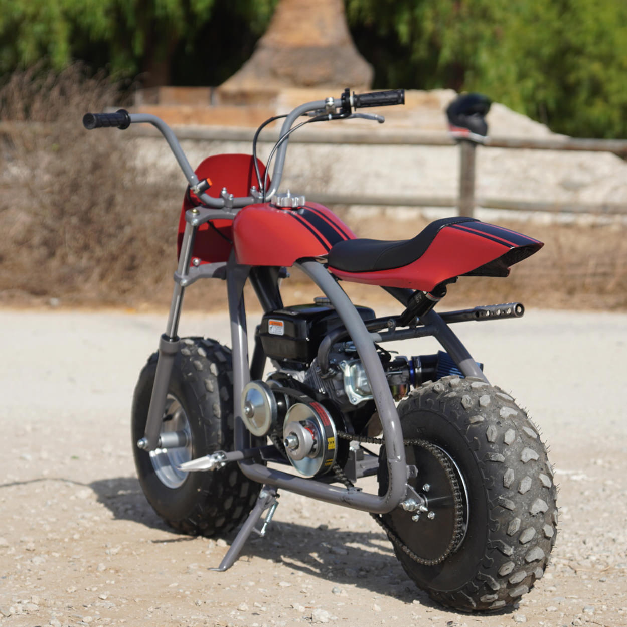 Coleman BT200X mini bike custom by The Speed Merchant