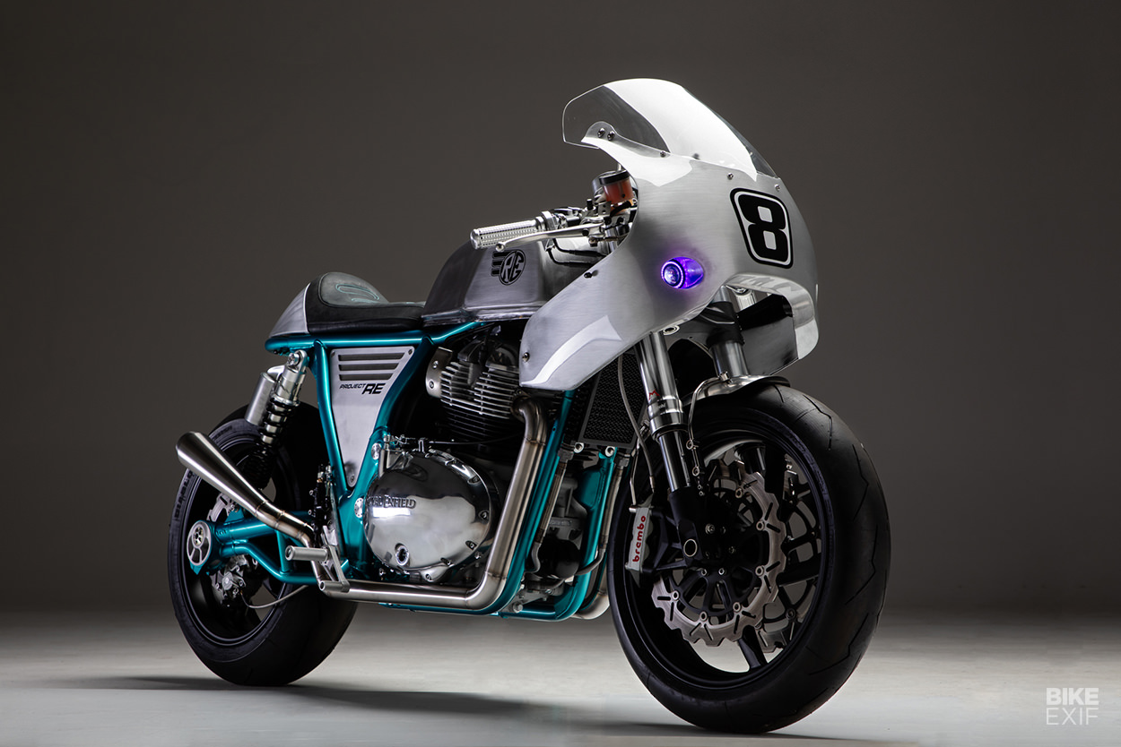 Royal Enfield Continental GT 650 cafe racer by Rogue Motorcycles