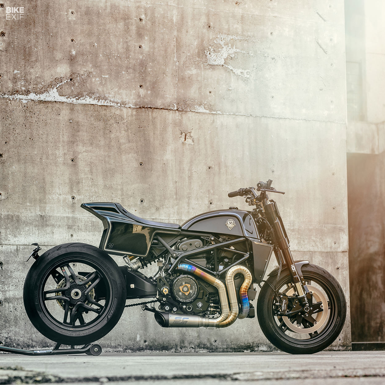 Custom Ducati Hypermotard 939 by Rough Crafts